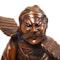 Japanese wood figure of a Samurai - image 5