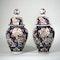 Pair Japanese Imari vases and covers - image 6