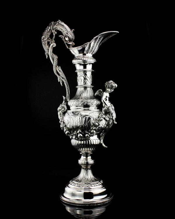 Italian silver jug, c1900. signed Buccelatti - image 1