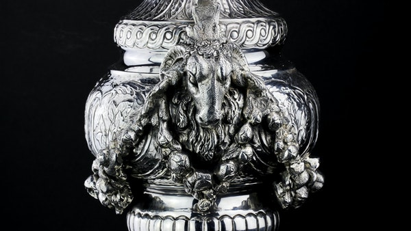 Italian silver jug, c1900. signed Buccelatti - image 6