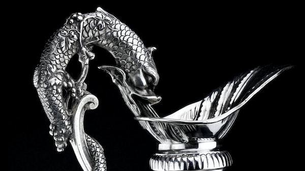 Italian silver jug, c1900. signed Buccelatti - image 4