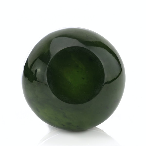 Russian Faberge gold mounted nephrite bowl, Michael Perchin, St. Petersburg 1899-1903 - image 5