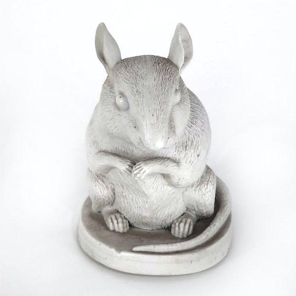 Japanese Hirado bisque rat - image 2