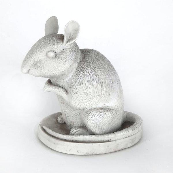 Japanese Hirado bisque rat - image 3