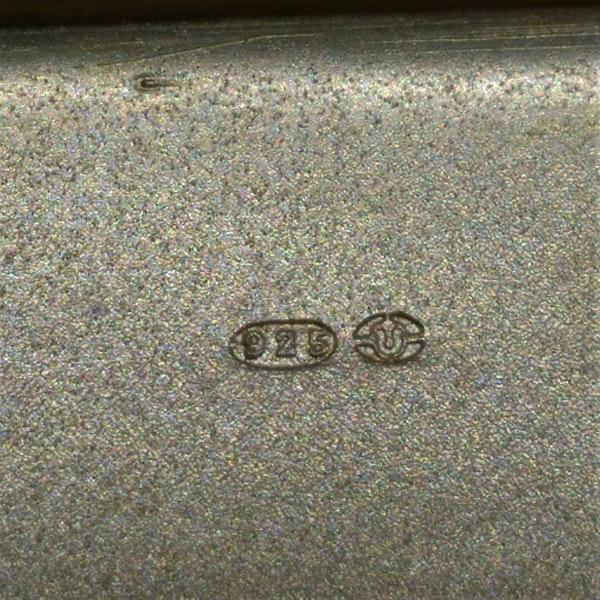 ArtDeco Continental silver gild enamel box - image 4