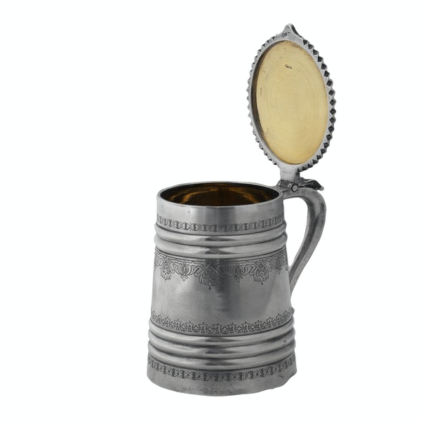 Russian Silver Tankard, Moscow 1895 - image 6