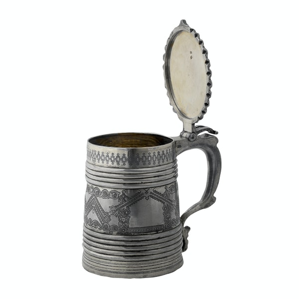 Russian Silver Tankard, Moscow 1880 - image 5