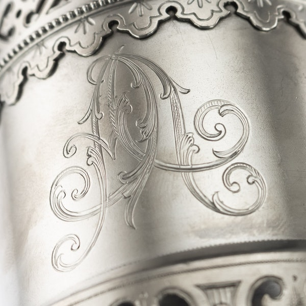 Russian silver tea glass holder, Moscow, c.1890 - image 6