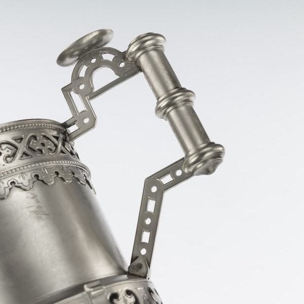 Russian silver tea glass holder, Moscow, c.1890 - image 5