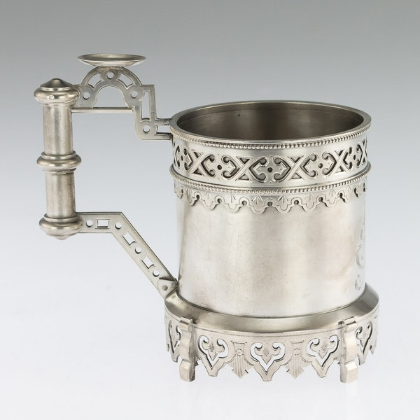 Russian silver tea glass holder, Moscow, c.1890 - image 2