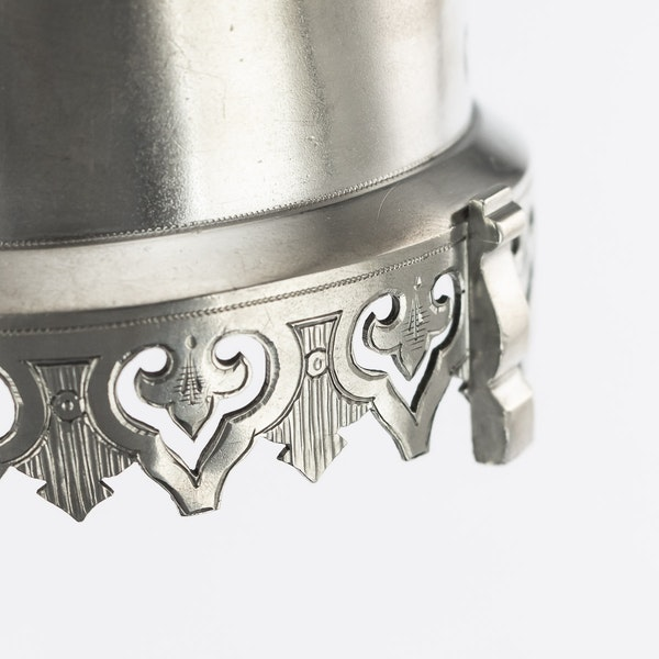 Russian silver tea glass holder, Moscow, c.1890 - image 4