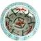 Chinese polychrome Jardiniere  fish bowl - image 6