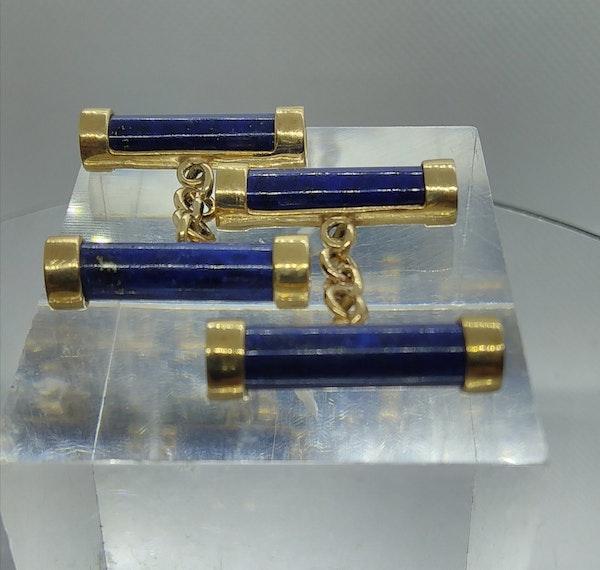 Lapis Lazuli Cufflinks - image 2
