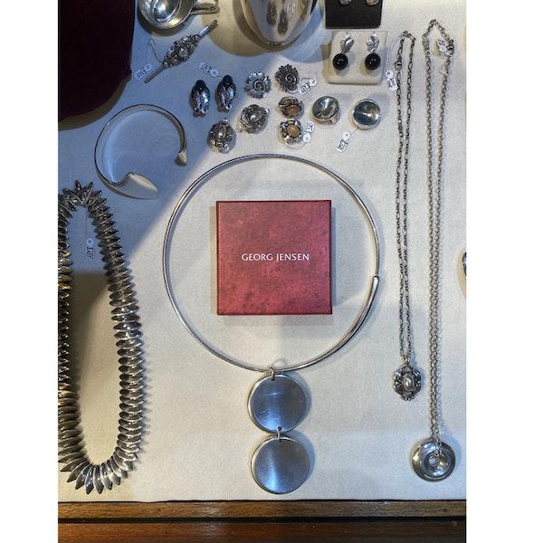 Date:2004, Georg Jensen, Silver Pendant Necklace, Design Name:ZERO ,SHAPIRO & Co since1979 - image 6
