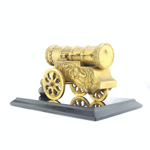 """Russian gild bronze model of cannon """"Tsar Cannon"""" a private bronze foundry c.1880 - image 2"""