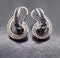 Sapphire and Diamond Swirl Earrings - image 6