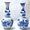 A NEAR PAIR OF RARE CHINESE TRIPLE GOURD VASES, KANGXI (1662 - 1722) - image 1