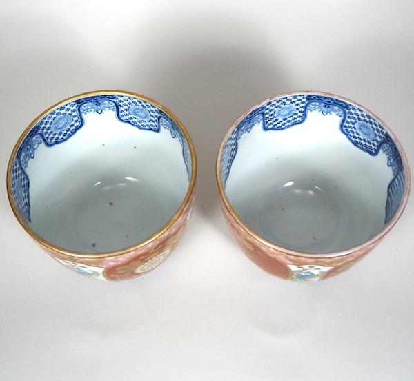 Pair of small Japanese Imari Jardinières - image 5
