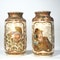 Pair Japanese Satsuma vases - image 4