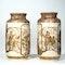 Pair Japanese Satsuma vases - image 2