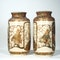 Pair Japanese Satsuma vases - image 3