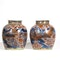 Pair Chinese clobbered ginger jars - image 4