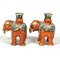 Pair of Chinese elephant candle holders - image 4