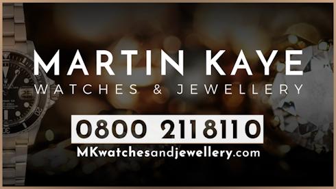 Martin Kaye Watches and Jewellery