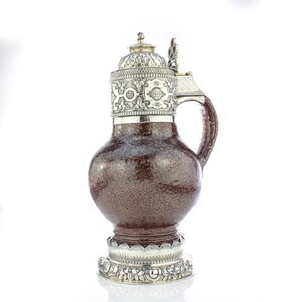 English Silver Tigerware Jug in Elizabeth I style, Birmingham 1919 by S.Blanckensee and Sons Ltd - image 5