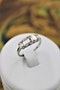 A very fine five-stone Graduated Emerald Cut Diamond Ring set in Platinum, Pre-owned - image 1