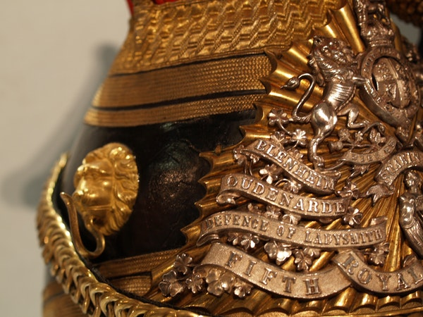 Victorian 12th Lancers Officers lance cap - image 4