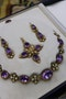An exceptional example of a late Georgian Demi-Parure set with Amethysts, Seed Pearls and Chrysobery in High Carat Yellow Gold, English, Circa 1820 - image 1
