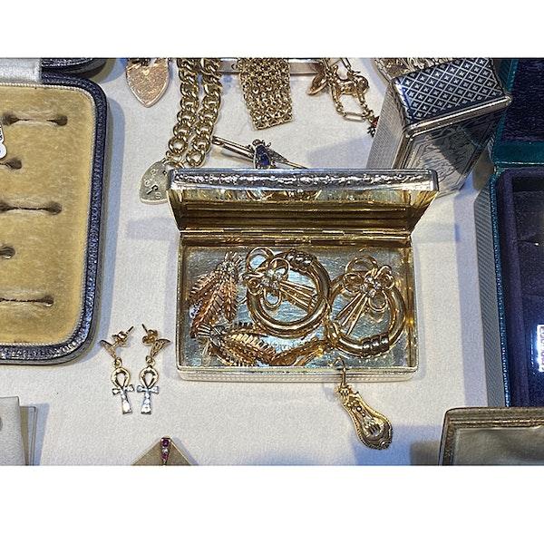 Date: circa 1900, 18ct Yellow Gold Earrings, SHAPIRO & Co since1979 - image 6
