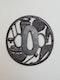 Japanese Meiji Period iron tsuba - image 2