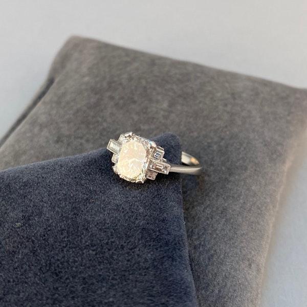Diamond Ring in Platinum 2ct Diamond SHAPIRO & Co since1979 - image 3