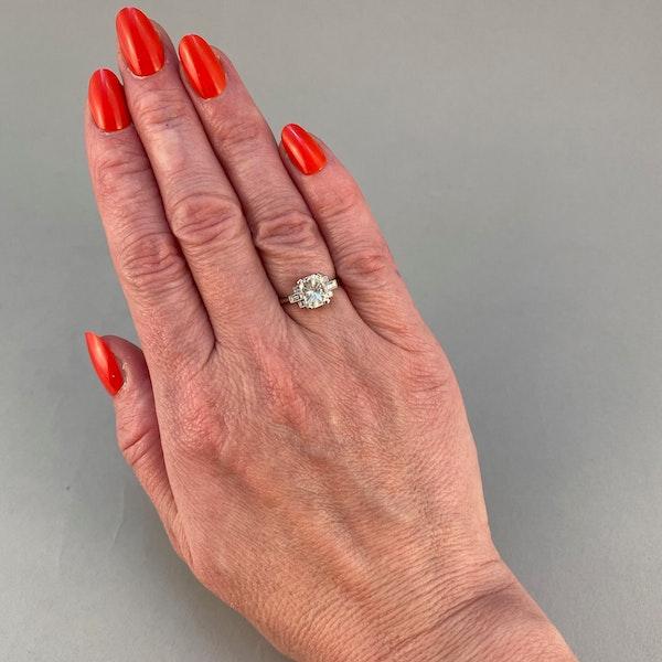 Diamond Ring in Platinum 2ct Diamond SHAPIRO & Co since1979 - image 1