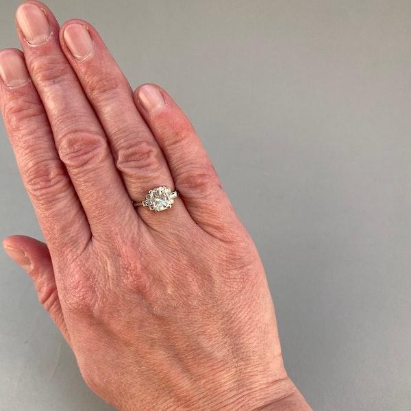 Diamond Ring in Platinum 2ct Diamond SHAPIRO & Co since1979 - image 2