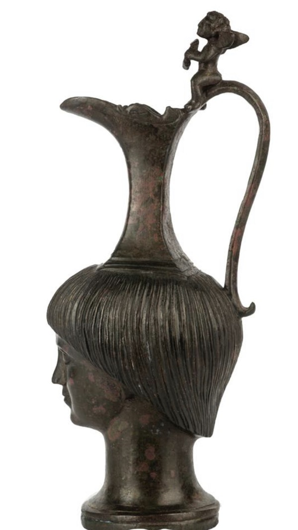 Bronze Roman Jug - image 2