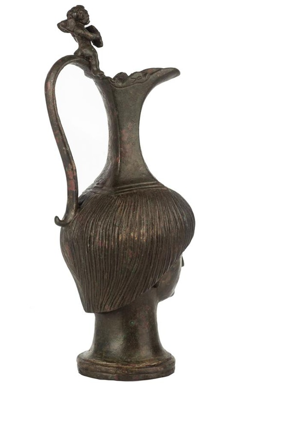Bronze Roman Jug - image 3