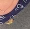 Date: London 1970, 18ct Yellow Gold, Sapphire & Diamond stone set Brooch, SHAPIRO & Co since1979 - image 7