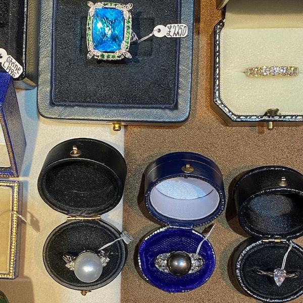 0.60ct Pear Cut Diamond, Platinum  Ring, SHAPIRO & Co since1979 - image 6