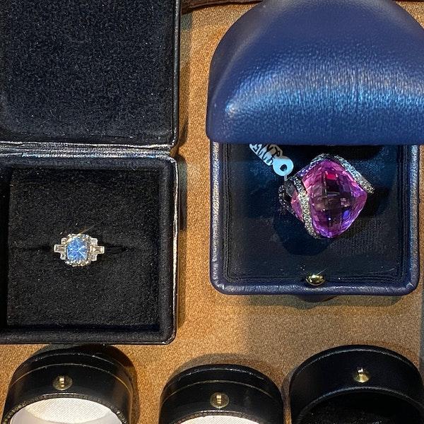 Diamond Ring in Platinum 2ct Diamond SHAPIRO & Co since1979 - image 7