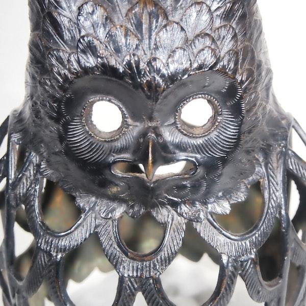 Japanese Bronze Owl - image 5