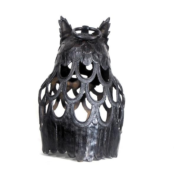 Japanese Bronze Owl - image 3
