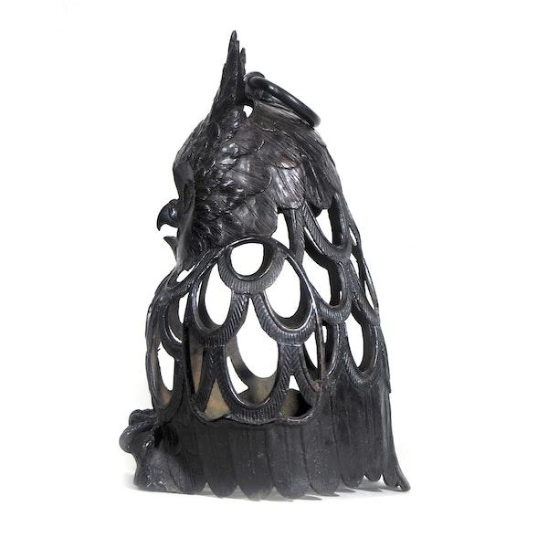 Japanese Bronze Owl - image 4