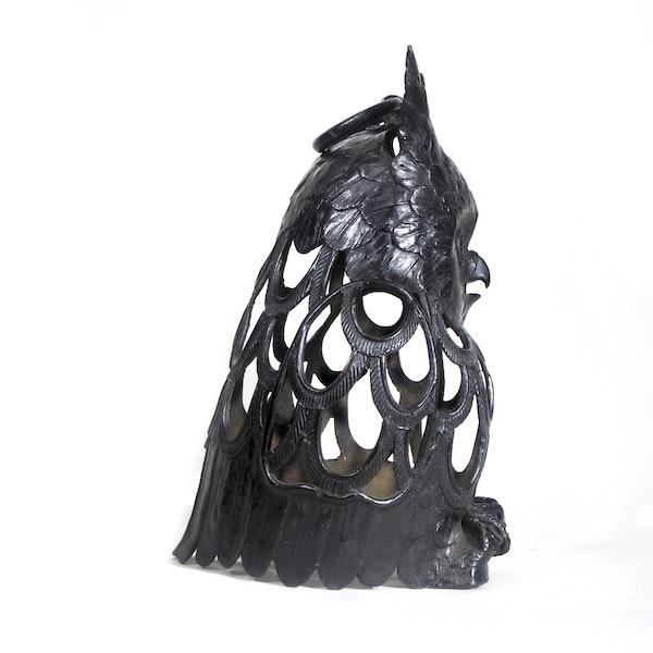 Japanese Bronze Owl - image 2