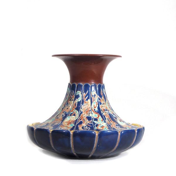 Japanese Makazu Kozan vase - image 3