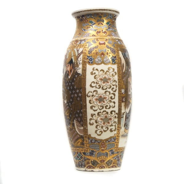 Japanese satsuma vase - image 4