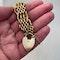 Date: circa 1890, 9ct Yellow Gold Gate Bracelet, SHAPIRO & Co since1979 - image 5