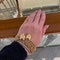 Date: circa 1890, 9ct Yellow Gold Gate Bracelet, SHAPIRO & Co since1979 - image 6
